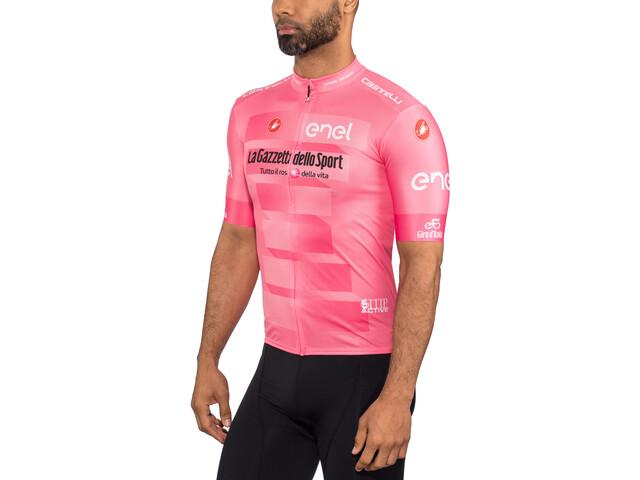 Castelli Giro d'Italia #102 Squadra Maillot manches courtes Homme, pink giro